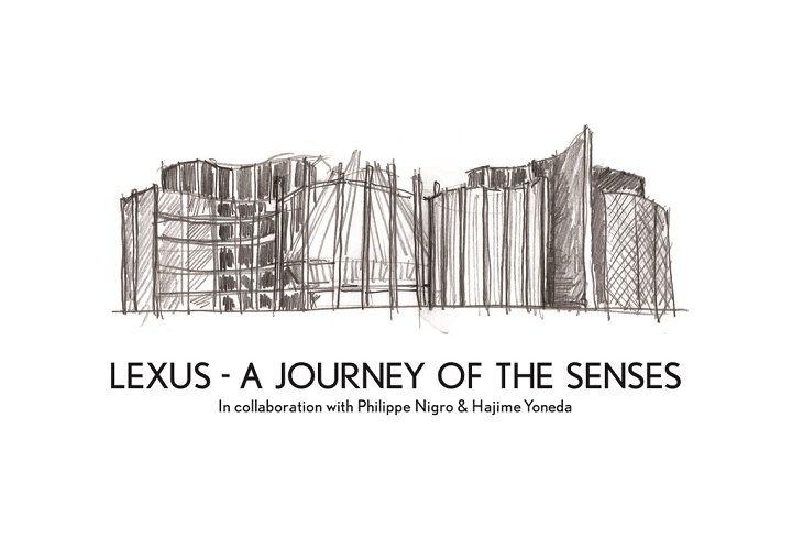 Lexus nimmt mit einer Installation mit dem Titel LEXUS – A JOURNEY OF THE SENSES am weltgrößten Design-Event, dem Salone del Mobile di
