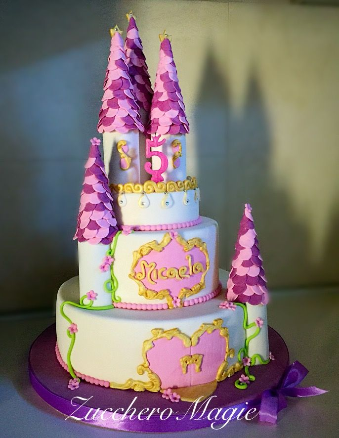 Castle cake for ma little princess