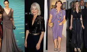 Resultado de imagen para vestidos de moda para mujeres de 60 años