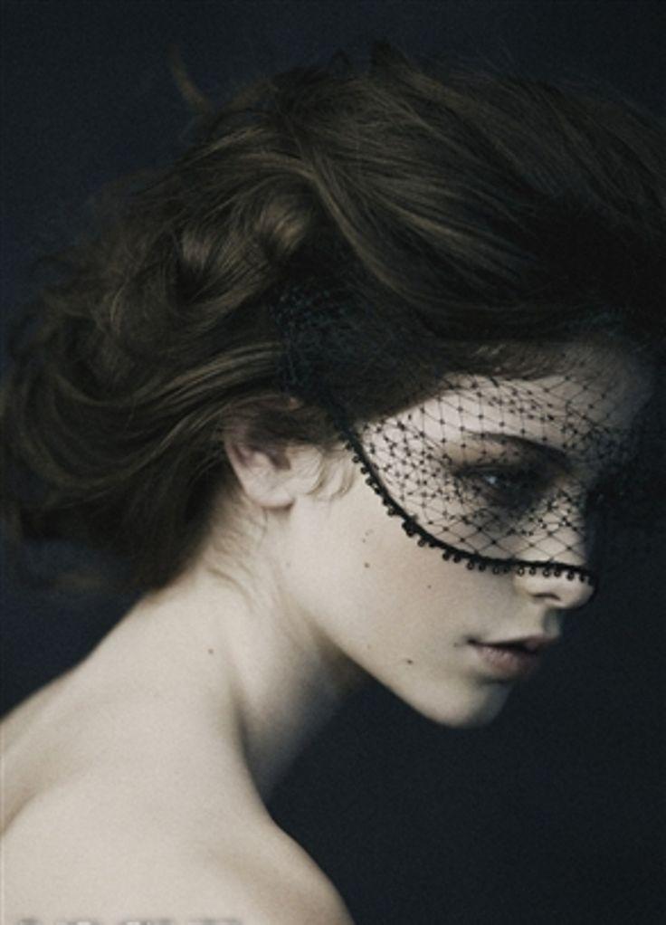 Beautiful Lace Mask #Black @michaelsusanno