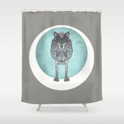 THE HUNTRESS Shower Curtain by Monika Strigel - $68.00