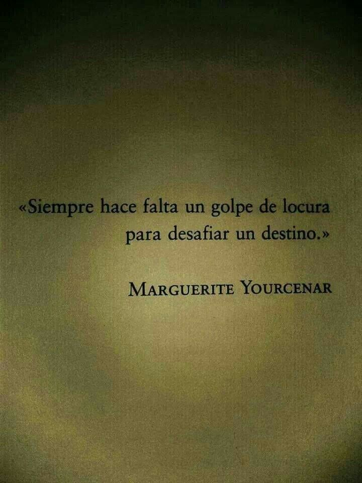 Marguerite Yourcenar.