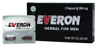 suplemen herbal EVERON HWISEHAT EVERON membantu meningkatkan stamina dan ketahanan pria ketika berhubungan dengan pasangan nya sehingga kualitas hubungan menjadi LUAR BIASA.