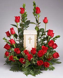 cremation floral arrangements - Google Search