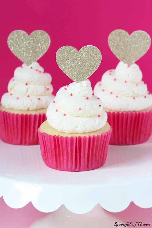 Whipped Vanilla Cupcakes