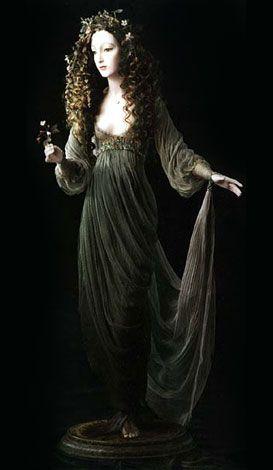 forest fairy - alexandra kokinova [click through to view a close up of her face - she's exquisite!]