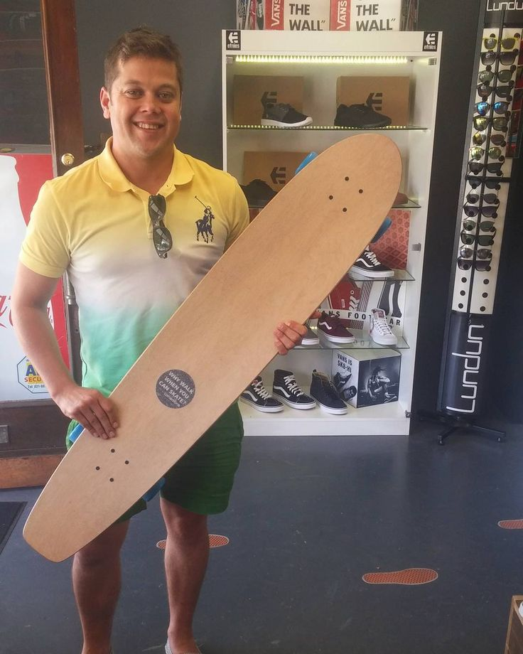 We're stoked we could sort the homie @garth3008 out with a fresh coat of clear @gunslinger_sa griptape & a well-placed sticker!   Enjoy it skate safe & stay stoked mate! Welcome to the #csskateshopfam!  #csskateshop x #gunslingerlongboards