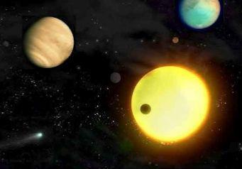 Viatge pel nostre Sistema Solar. Hi ha 16 webquests en aquest link, totes de l'Univers