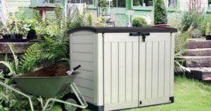 Plastic Garden Storage Boxes Homebase