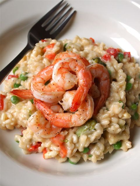 Risotto Primavera with Shrimp Recipe