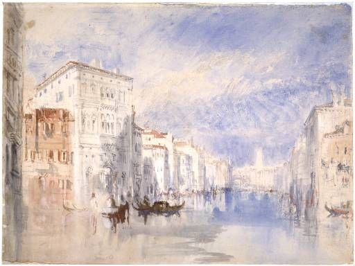 Joseph Mallord William Turner 'The Palazzo Balbi on the Grand Canal, Venice', c.1819–35 © The National Gallery of Scotland