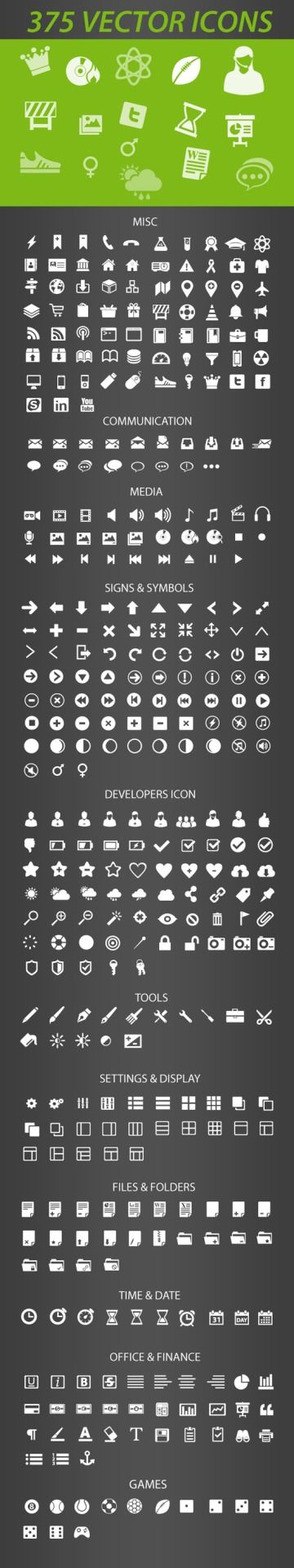 375 Retina-Display-Ready Free Icons