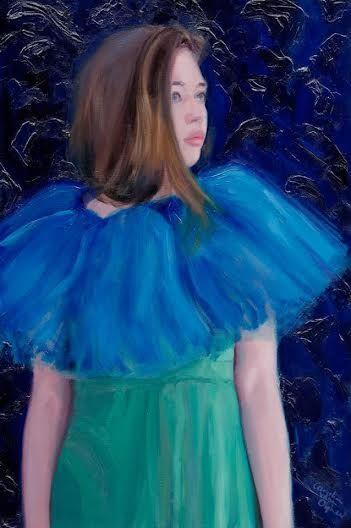 Daydreamer, 60x90 cm, oil on linen
