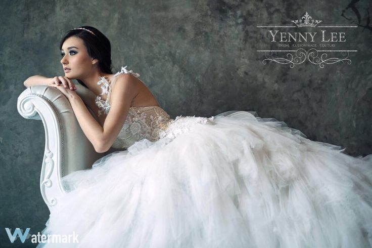 Singing in the rain, bring the bride for the wedding ring, oh okay it's a ding dong ding ringing, preparing for the wedding.  Bride to be! Go grab your bridal collection with us only at Yenny Lee Bridal Couture @yennylee_couture   www.yennyleecouture.com   +62 812 1741 1038