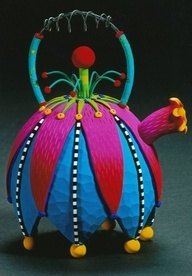 Crazy colorful teapot! www.missdinkles.com