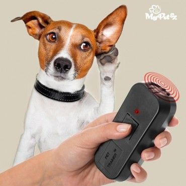 If you want to train your pet, theMy Pet Trainer ultrasound remote for training petswill be useful for you!