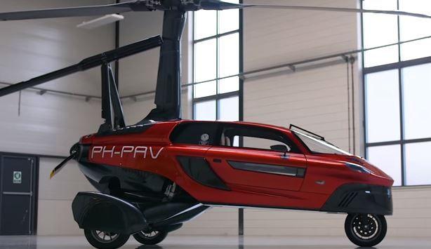 Dutch Pal V Liberty Flying Car The World S First Flying Car Production Model By Pal V First Flying Car Flying Car Car