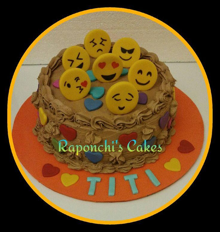 #smile #emonji #torta #crema #raponchiscakes