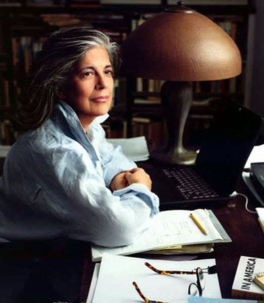 Susan Sontag (1933 – 2004) was an American writer and filmmaker, teacher and political activist. Her best known works include On Photography, Against Interpretation, and Illness as Metaphor. Sontag was active in writing and speaking about, or travelling to, areas of conflict, including during the Vietnam War and the Siege of Sarajevo. She wrote extensively about photography, culture and media, AIDS and illness, human rights, and communism and leftist ideology. // Photo by Annie Leibovitz
