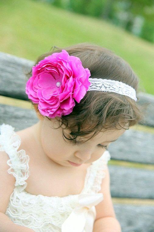 headband...flower headband