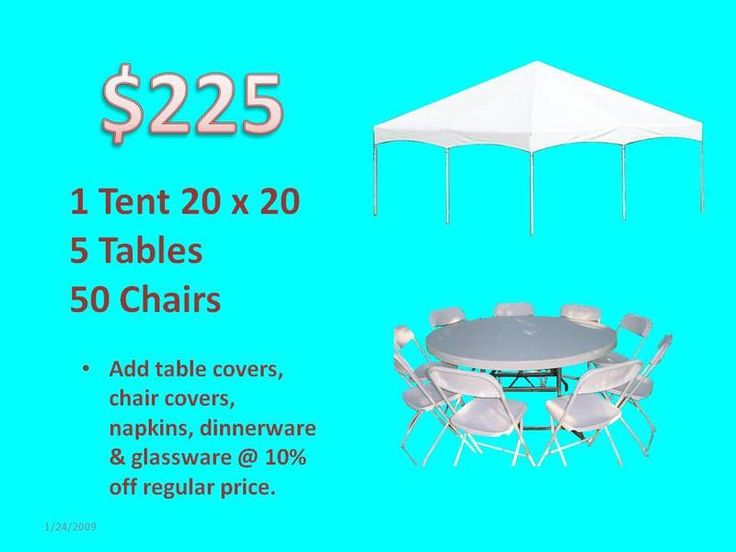 Tents for Rent - Rental Tents - Rent Tables and Chairs - Miami Party Rental  Tents