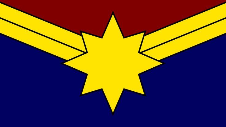 Captain Marvel: Carol Danvers Symbol Wallpaper by MorganRLewis.deviantart.com on @DeviantArt