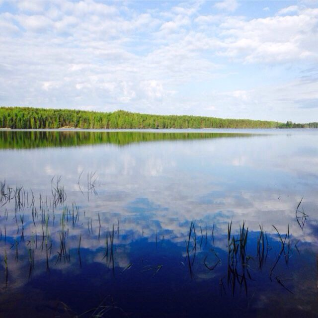 Lake Saimaa Finnland