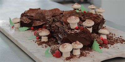 Try this Chestnut and Chocolate Yule Log recipe by Chef Sian.This recipe is from the show The Great Australian Bake Off.