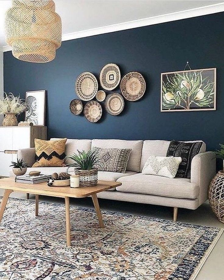 53 Best Wall Color Ideas For Living Room Page 8 Of 53 Lavorist In 2021 Accent Walls In Living Room Blue Walls Living Room Beige Living Rooms