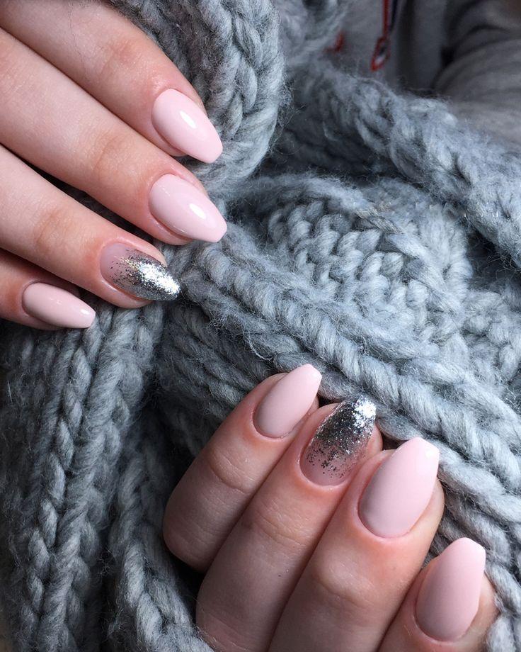 Ballerina Nägel im Trend – Diese Nagelform wirkt total edel und stilvoll! #ma…
