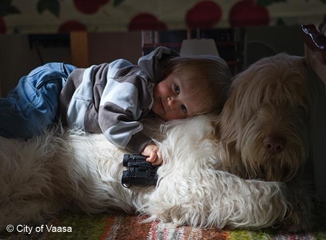 The best friend. www.visitvaasa.fi. Photographer Jaakko J Salo.