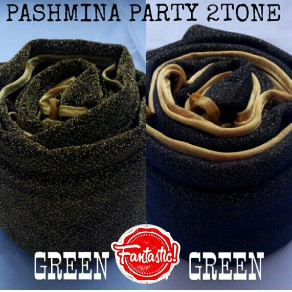 Pashmina party two tone Uk 165*65cm Bahan wool @75.000 3-5 pcs @70.000 5-dst @65.000