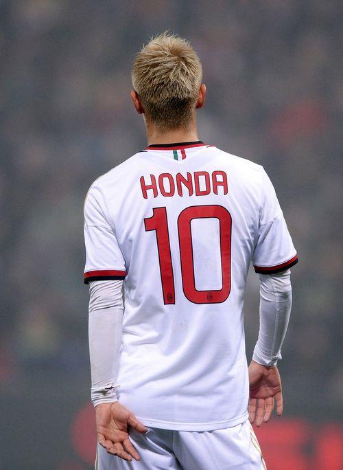 Keisuke Honda - AC Milan's new #10