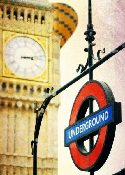 London Underground ~ we are ruled by appointments, calendars, deadlines, and the ever ticking clock.  Quick!  Gotta dash!