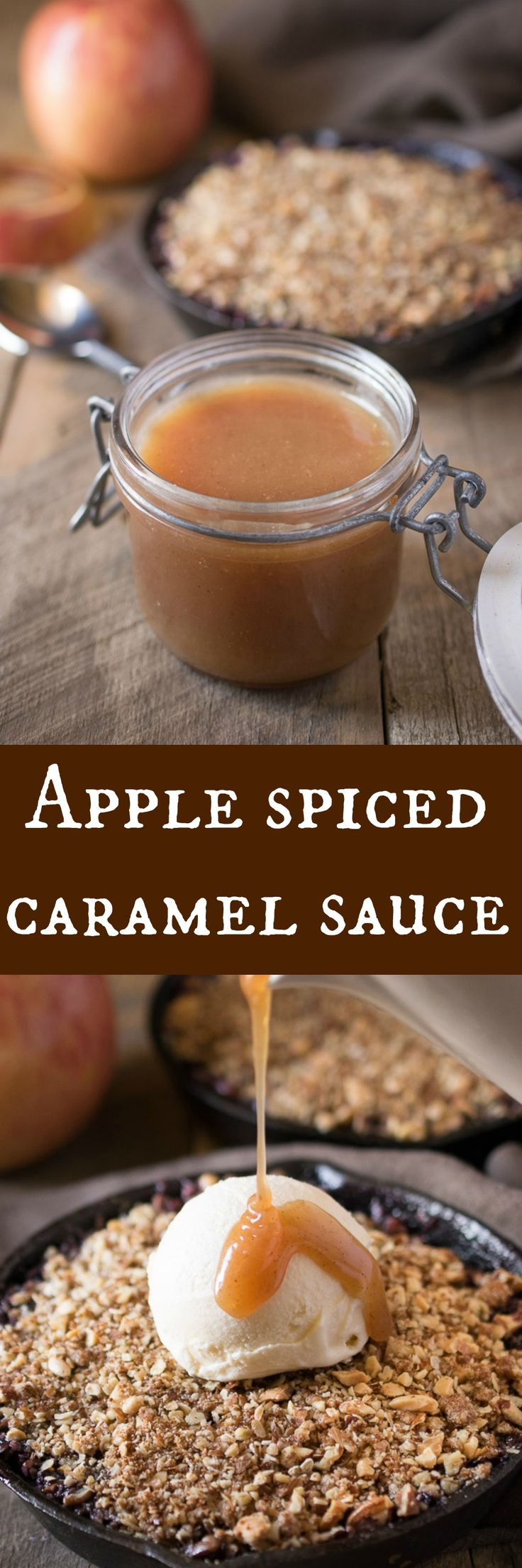 Delicious caramel sauce taken to the next level with apple extract and Autumn…