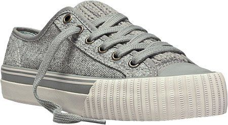PF Flyers Center Lo Fashion Sneaker PF Flyers. $17.88. Cushioned insole. Canvas lining. Canvas or suede leather upper. Rubber sole. More than retro, a reissue of the real thing. Diamond-patterned rubber sole. Fabric