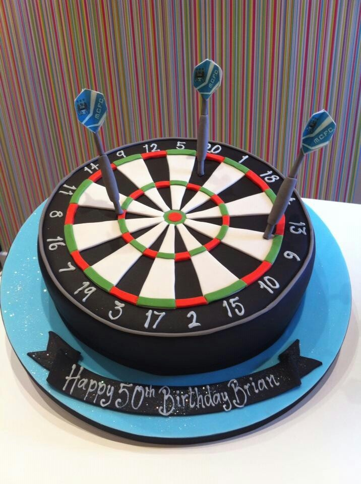 Richards Cakes Dart Board Cake Ideas Pinterest Dart