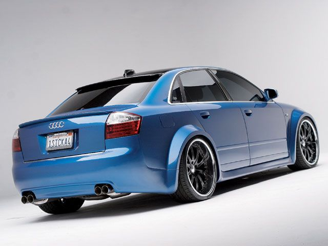 wide body kits for 1996 audi a 4 quattro | audi a4 2004 custom