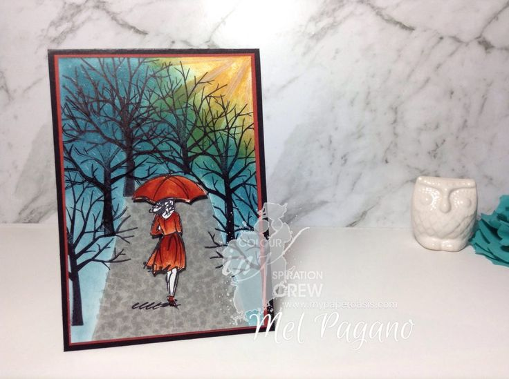 Colour Inkspiration #10 by Mel pagano at My Paper Oasis using Stampin' Up!s Beautiful You and Sheltering Tree
