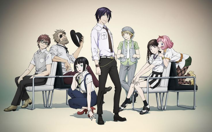 the Noragami Season 2 sample picture