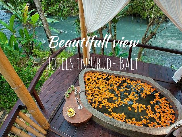 #Beautifull View Htels in #Ubud #BALI