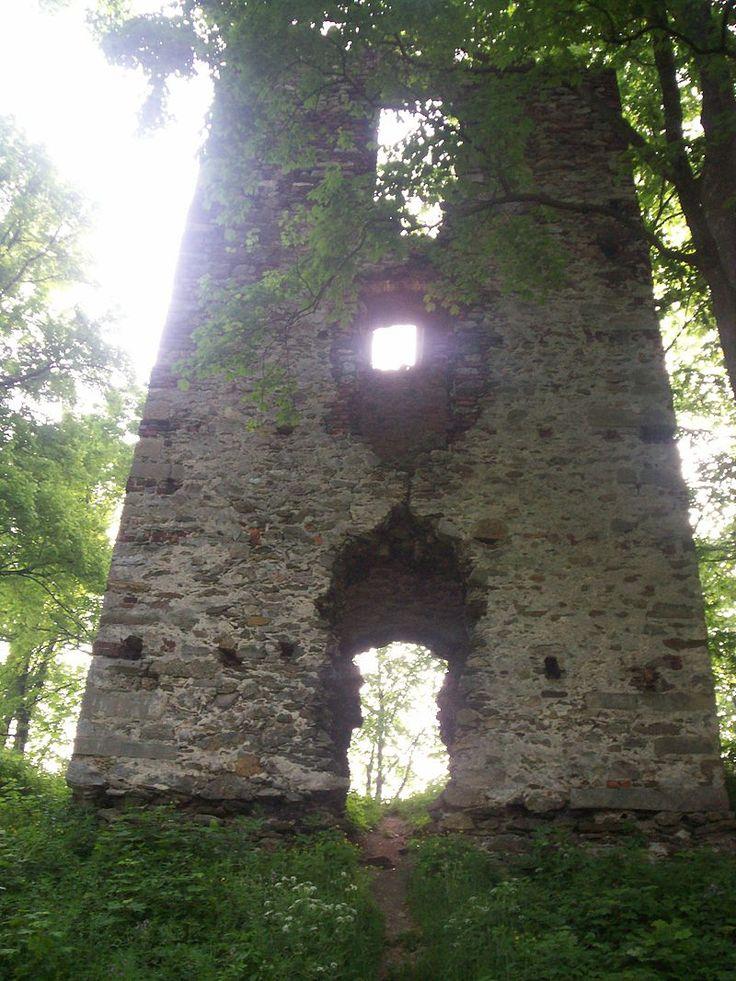 Stara Kamienica ruiny zamku1 - Schaffgotschowie – Wikipedia, wolna encyklopedia
