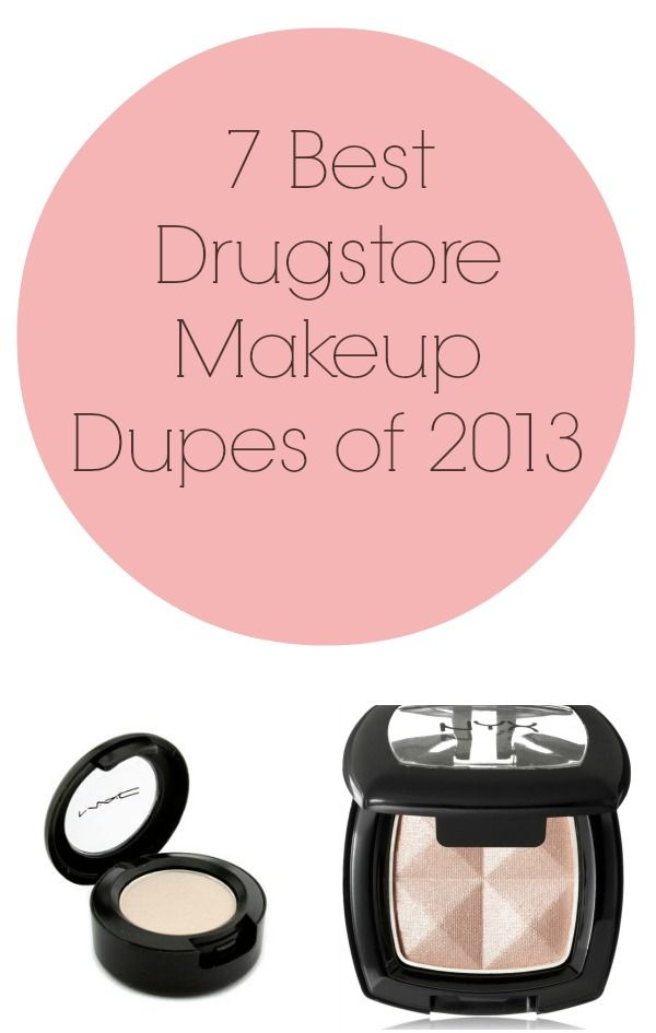 7 Best Drugstore Makeup Dupes of 2013 (I'm not cheating on my Bobbi Brown but I like to know what's comparable!!)