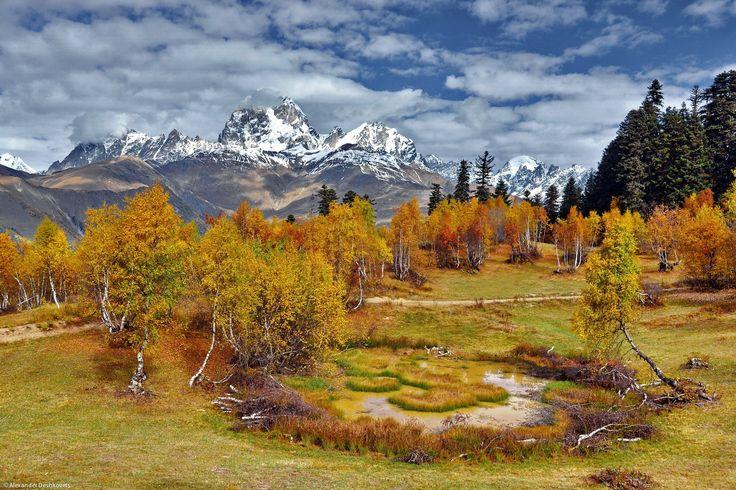 Ushba. View from Hatsvali by Alexander Deshkovets on 500px