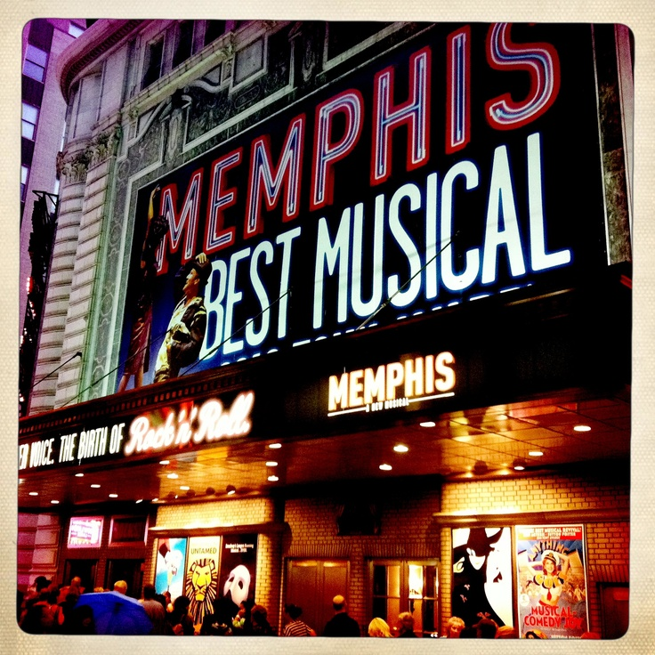 Memphis musical - NYC Broadway
