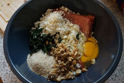 Turlington Talks: Healthy Spinach, Feta and Mushroom Meatloaf