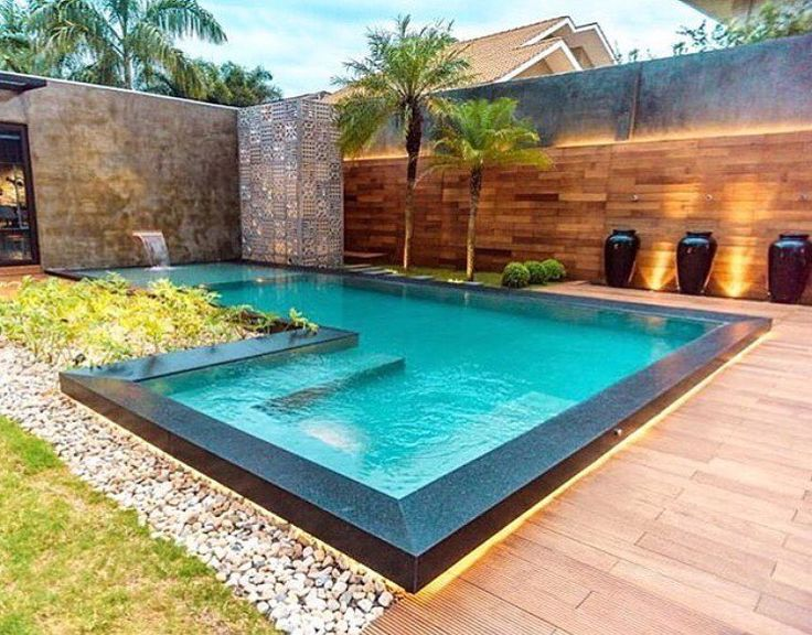 Best 25 outdoor pool bathroom ideas on pinterest pool for Piscinas para casas modernas