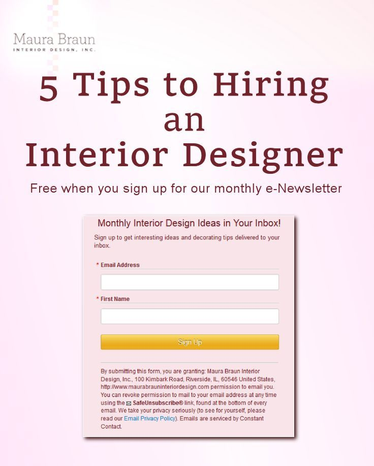 Want To Know The 5 Tips Hiring An Interior Designer Follow This Link For