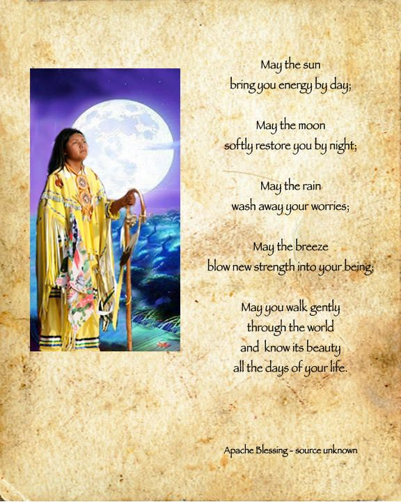Native American Apache Prayer For Thanksgiving Native
