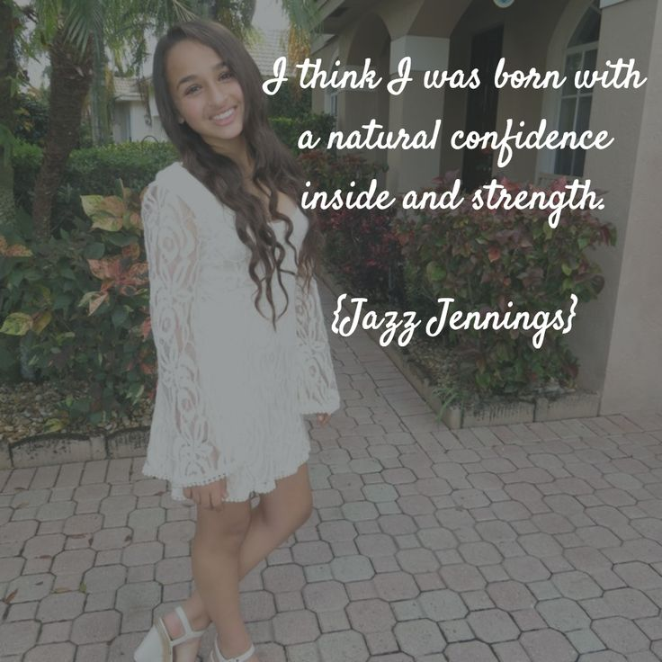 Jazz Jennings is growing up to be a beautiful woman.  #TransIsBeautiful #LoveisLove
